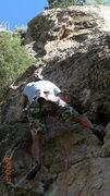 Rock Climbing Photo: Mi padre pitch 1.