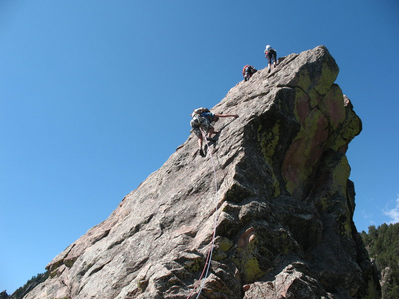 Rock Climbing Photo: Almost there!!