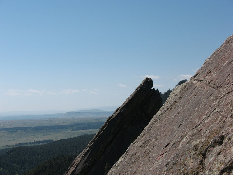Rock Climbing Photo: The Third Flatiron from Fandango.