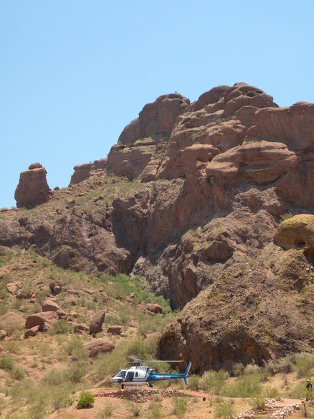 Rock Climbing Photo: Camelback mt.