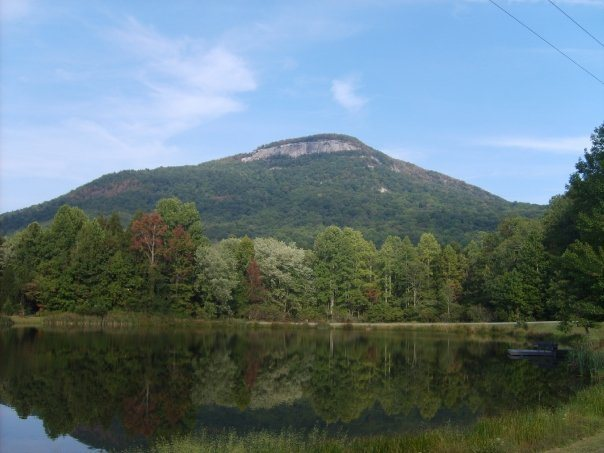 Rock Climbing Photo: Mount Yonah from the road
