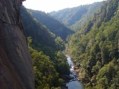 Rock Climbing Photo: tallulah gorge from punk wave