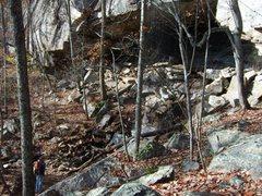 Rock Climbing Photo: waterfall @ Lost Wall