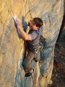 Rock Climbing Photo: jeep streak