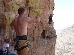 Rock Climbing Photo: Don't forget your shoes unless you have this creat...