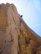 Rock Climbing Photo: James on pitch 2.