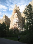 Rock Climbing Photo: Tower Rock from the road.