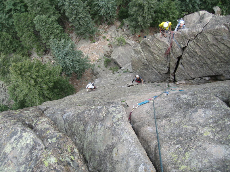 Rock Climbing Photo: A friendly community can often be found on  the Co...