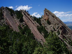 Rock Climbing Photo: The Third and the Ironing Boards as seen from the ...