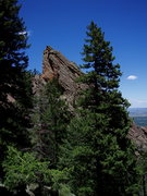 Rock Climbing Photo: The Third Flatiron - viewed from the south.