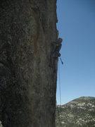 Rock Climbing Photo: Sauron the King of Mordor Bobbin' for Hobbits, his...