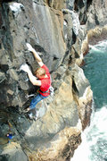 Rock Climbing Photo: finishing the prow and climbing into the tech corn...