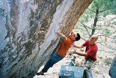 Rock Climbing Photo: Jerad on Pungase.