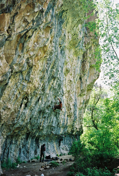 Rock Climbing Photo: Minko on Thieves.