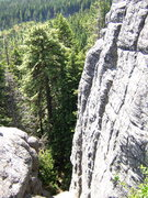 Rock Climbing Photo: 2nd to the last butress to the east