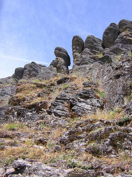 Rock Climbing Photo: area 51