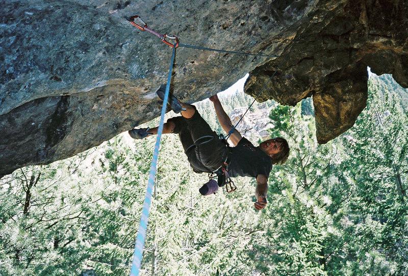 Rock Climbing Photo: Jordan Gehrig on Predator.