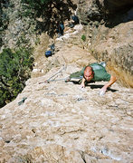 Rock Climbing Photo: Brandon Schirm on Spinney Dan.