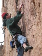 Rock Climbing Photo: Scott at Shelf Road