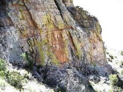 Rock Climbing Photo: Peter Noebels cruising Knight Owl.