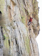 Rock Climbing Photo: Peter Noebels getting into the business on Knight ...