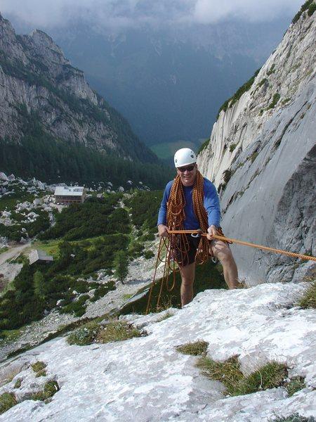 Rock Climbing Photo: Abseil
