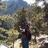 Christina falling in love w/ Boulder at the approach above NCAR!
