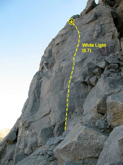 White Light (5.7), Riverside Quarry