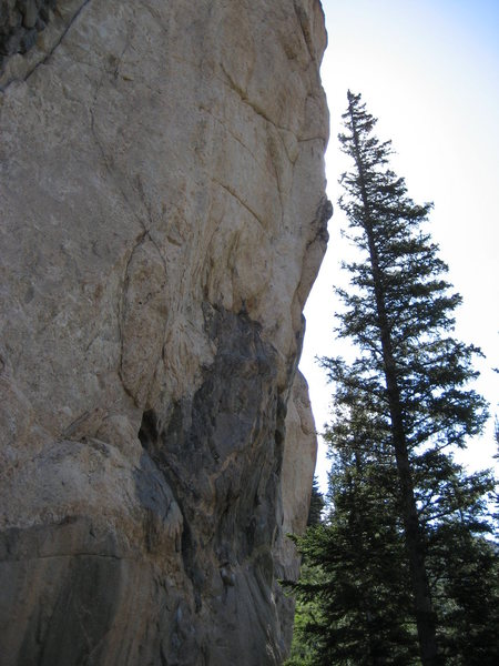 Rock Climbing Photo: The Engagement 5.12b.