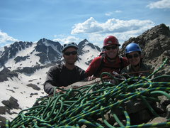 Rock Climbing Photo: View from the summit - 13,113 ft.