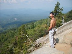 Rock Climbing Photo: beautiful day of climbing @ mount yonah