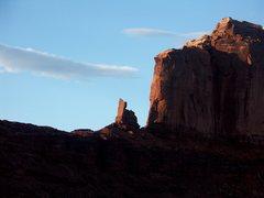 Rock Climbing Photo: Bow Knot Bend, Green River, Utah.  Kourtney Morgan...