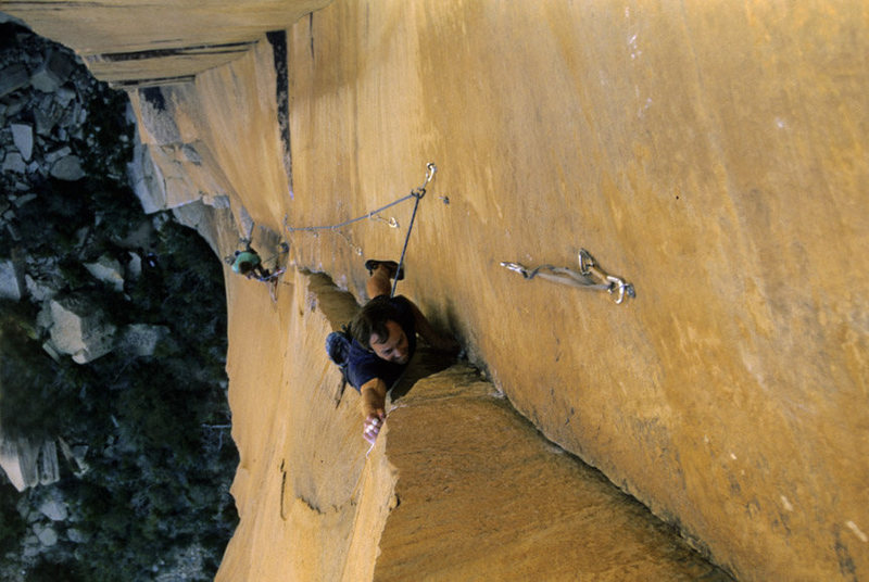 Rock Climbing Photo: The redpoint crux for me was locking off way low a...