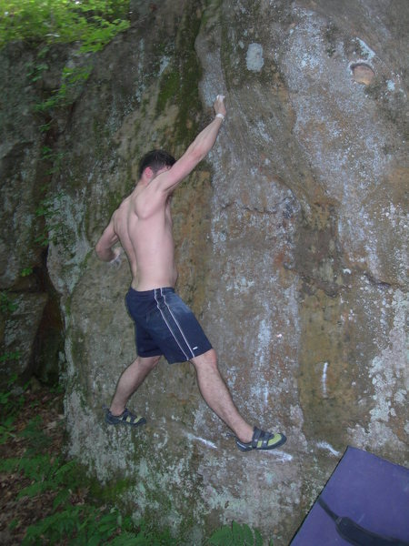 Rock Climbing Photo: first hold
