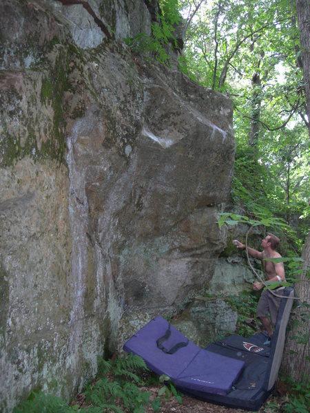 Rock Climbing Photo: execution bloc