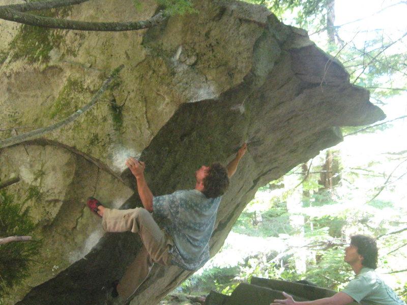 Rock Climbing Photo: Ryan Houck cruising World's Greatest.