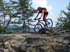 Rock Climbing Photo: Mountain biking at the New River Gorge - Long Poin...