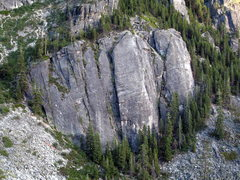 Rock Climbing Photo: Lower Buttress, Lover's Leap
