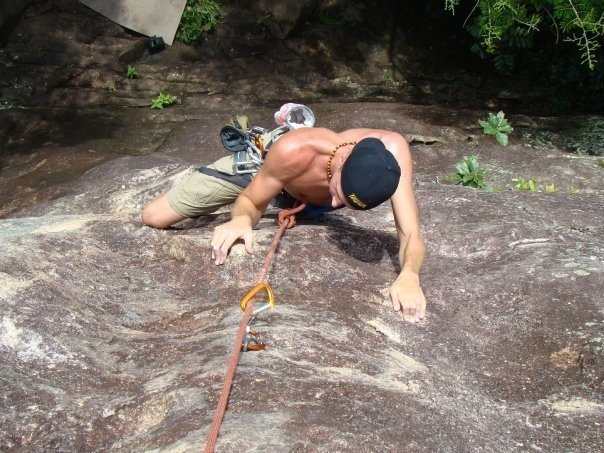 Rock Climbing Photo: Climbing in Brazil summer 08