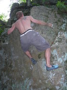 Rock Climbing Photo: before you go for the garbage up top