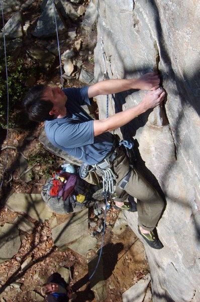 Rock Climbing Photo: plague