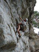 Rock Climbing Photo: I'm staring down that next fixed draw... I think I...