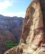 Rock Climbing Photo: Kaleidoscope Cracks