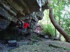 Rock Climbing Photo: Calm Like a Bomb