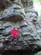 Rock Climbing Photo: Local on the Eights