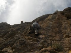 Rock Climbing Photo: In Vegas somewhere