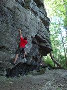 Rock Climbing Photo: Mono Problem