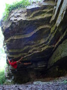 Rock Climbing Photo: Gorilla Action