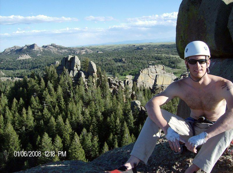 Rock Climbing Photo: Top of West Corner Pump Station