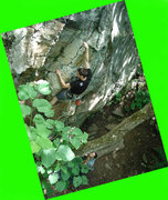 Rock Climbing Photo: Jeff on Murk Trench as dave belays... as for the s...